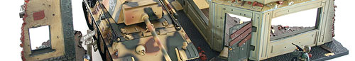 21st Century Toys Tank Playset