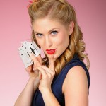 Alisha - With Vintage Playing Cards