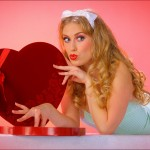Alisha - With Chocolate Candy Heart Box