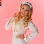 Alisha - With WW2 Naval Nurse Uniform