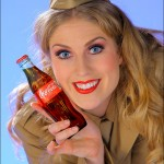 Alisha - With old-Style Coca Cola Bottle