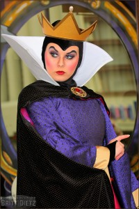 The Evil Queen in Disney's California Adventure