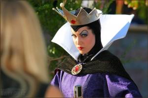The Evil Queen stare