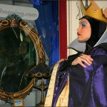 The Evil Queen and Mirror on Main Street