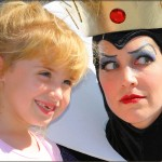 The Evil Queen and a little guest