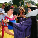 The Queen and Snow White Cross