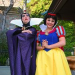 The Evil Queen and Snow White
