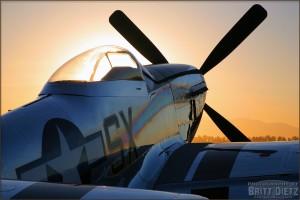 P-51 Mustang Sunrise