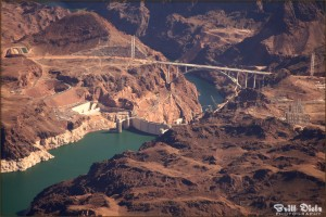 Hoover Dam, Nevada - Flight from Buffalo New York 2010