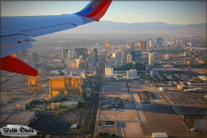 Las Vegas – Flight from Buffalo New York 2010