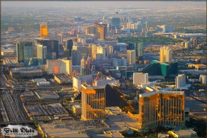 Las Vegas - Flight from Buffalo New York 2010