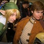 Zelda's Link and Battlestar Galactica's Starbuck