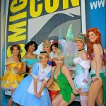Sexy Princess Group – Comic Con 2010