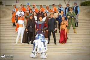 The Comic Con 2010 Rebel Legion group Photo