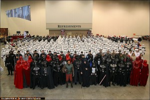 The 501st Legion at Star Wars Celebration III with Jay Laga'aia