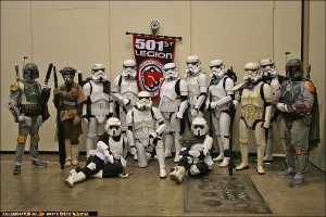 One of the many 501st Detachment Groups