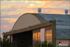 Former MCAS El Toro Hangar
