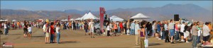 Panorama of the MCAS El Toro/Great Park Airshow Crowd