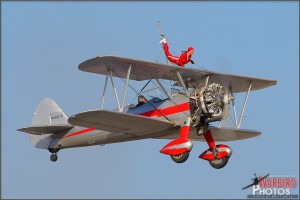 Silver Wings Wingwalker Team