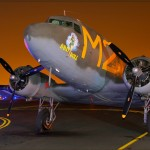 C-53D Skytrooper 'D-Day Doll' on the eve of the 66th Anniversary of D-Day