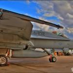 HDRI of a F/A-18C Hornet