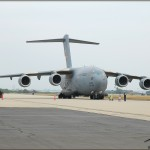 A C-17A Globemaster III sits on display at the 2010 NBVC Point Mugu Airshow
