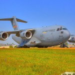 HDRI Image of a C-17A Globemaster III at the 2010 Riverside Airshow