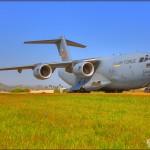 HDRI of a C-17A Globemaster III