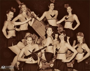 The Satin Dollz Pinup Dancers