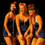 The Satin Dollz perform at their 2010 Birthday Bash Fundraiser