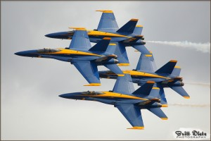 The USN Blue Angels at the 2007 Miramar Airshow