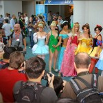 Sexy Princess Group at Comic Con - July 23, 2010