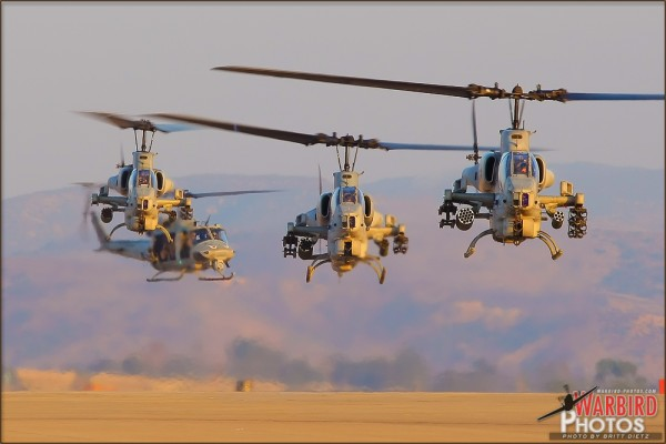HMM-163 Squadron arrives at MCAS Miramar - October 1, 2010
