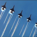 USAF Thunderbirds Vapor at NBVC Point Mugu - August 7, 2010