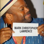 Mark Christopher Lawrence (Big Mike) from the TV show CHUCK at Comic Con 2011