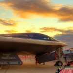HDRI image of the B-2A Stealth Bomber at the Nellis AFB 2011 Airshow