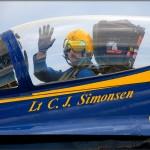 NAF El Centro PhotoCall - Blue Angel #5 - Lt. C.J. Simonsen