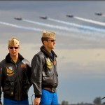 NAF El Centro PhotoCall - USN Blue Angels Narrator and Safety Observer