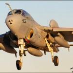 NAF El Centro PhotoCall - EA-6B Prowler sunset landing
