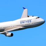 Fleet Week 2012 - United Airlines 747-422