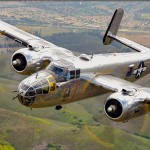 Air to Air Shoot: North American B-25J Mitchell