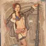 Pinups - Victoria - Army Air Force Pinup