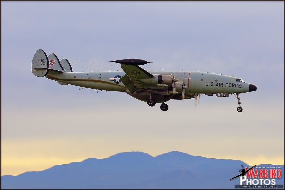 Connie Comes Home - EC-121T Super Constellation