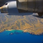 March ARB Media Ride - C-17 over Catalina Island