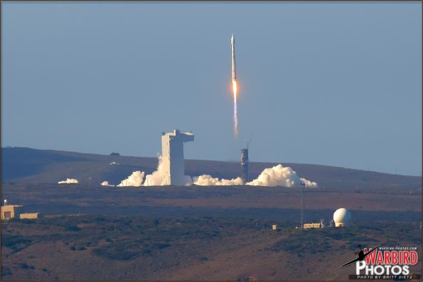 NASA LANDSAT Satellite Launch - February 11, 2013