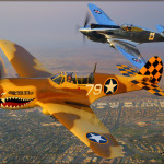 P-40C Warhawk & P-40N Warhawk - Air to Air
