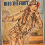 WW2 Military Pinups - Kelsey - Propaganda Pinup Poster