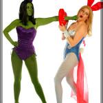 Avenger Bunnies - Hulk & Thor
