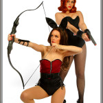 Avenger Bunnies - Hawkeye & The Black Widow
