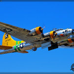 B-17G Flying Fortress 'Fuddy Duddy' Air to Air Photoshoot